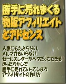 勝手に売れまくる物販アフィリエイトとアドセンス。月収48万円をほったらかしで手に入れる自動販売機(ブログ)の作り方。