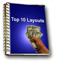 アドセンス−最もクリック率が高いレイアウト トップ10