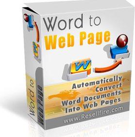 何百ページというサイトのぺージを一瞬にして、簡単に作ることができる!!【WordToWebPage】
