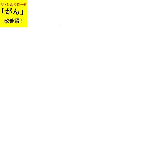 ザ・シルクロード「がん」改善編