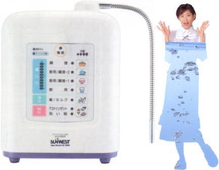 電解還元水整水器 Aqua Cluster AC−9000(取付け工事付き)