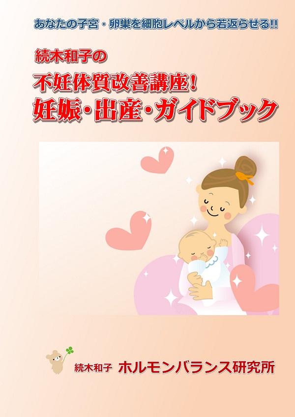 妊娠率が83%アップした!不妊体質改善講座!妊娠・出産・ガイドブック