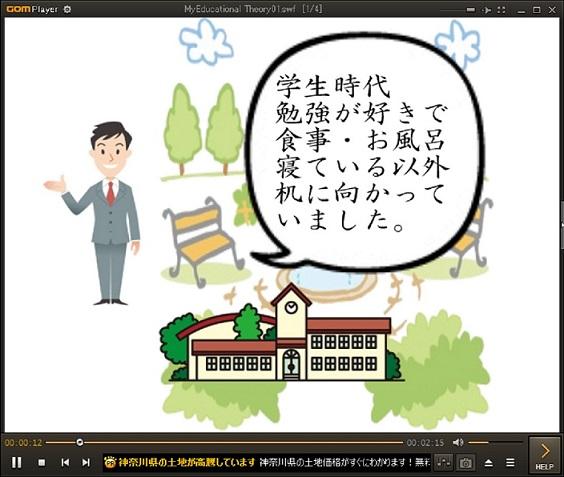 アニメ動画〜我が教育論